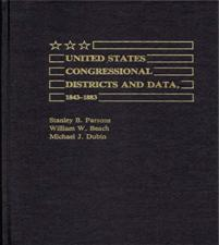 United States Congressional Districts and Data, 1843-1883. cover image