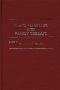 Black Marriage and Family Therapy cover image