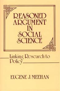 Reasoned Argument in Social Science cover image