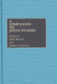 A Companion to Joyce Studies cover image