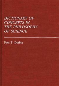 Dictionary of Concepts in the Philosophy of Science cover image