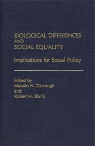 Biological Differences and Social Equality cover image