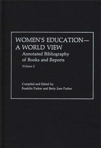 Women's Education, A World View cover image