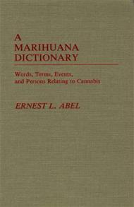 A Marihuana Dictionary cover image