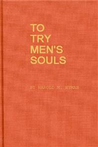 To Try Men's Souls cover image