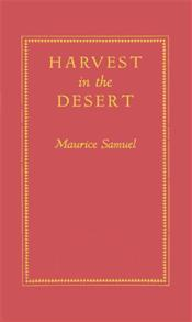 Harvest in the Desert. cover image