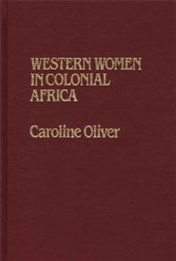 Western Women in Colonial Africa. cover image