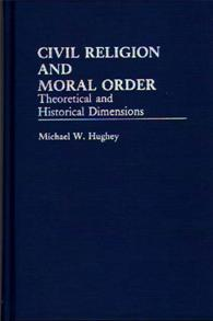 Civil Religion and Moral Order cover image