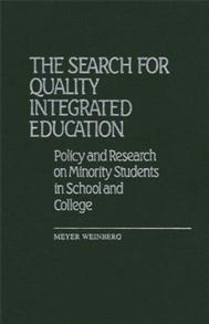 The Search for Quality Integrated Education cover image