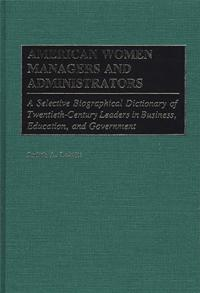 American Women Managers and Administrators cover image