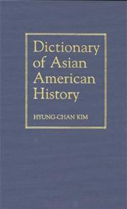 Dictionary of Asian American History cover image
