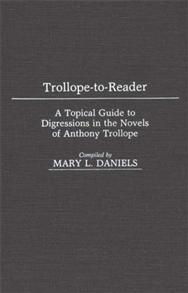 Trollope-To-Reader cover image