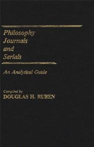 Philosophy Journals and Serials cover image