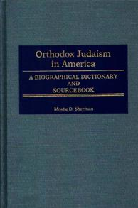 Orthodox Judaism in America cover image