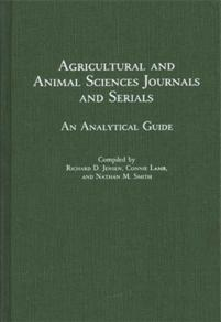 Agricultural and Animal Sciences Journals and Serials cover image