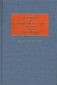 Dictionary of Language Games, Puzzles, and Amusements cover image