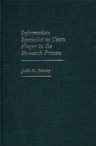 Information Specialist as Team Player in the Research Process cover image