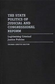 The State Politics of Judicial and Congressional Reform cover image