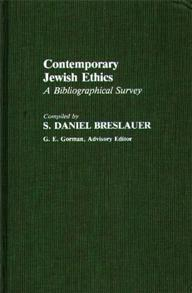Contemporary Jewish Ethics cover image