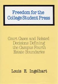 Freedom for the College Student Press cover image