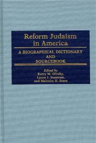 Reform Judaism in America cover image