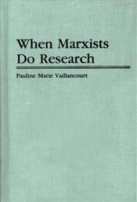 When Marxists Do Research cover image
