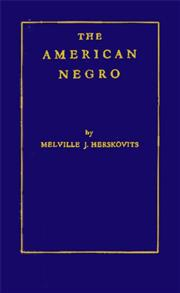 The American Negro cover image