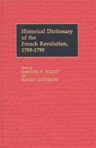 Historical Dictionary of the French Revolution, L-Z V2 cover image