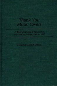 Thank You Music Lovers cover image