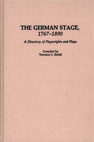 The German Stage, 1767-1890 cover image
