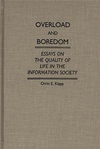 Overload and Boredom cover image