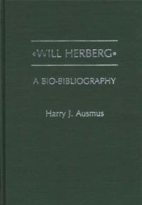 Will Herberg cover image