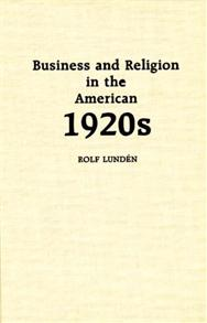 Business and Religion in the American 1920s cover image