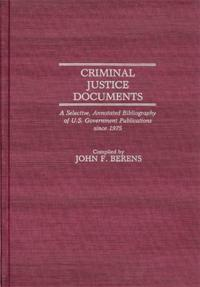 Criminal Justice Documents cover image