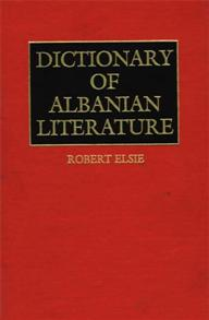 Dictionary of Albanian Literature cover image