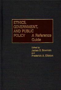 Ethics, Government, and Public Policy cover image