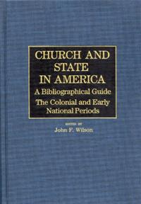 Church and State in America cover image