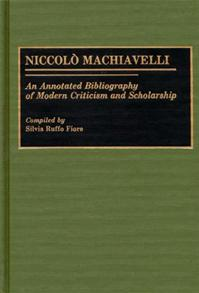 Niccolo Machiavelli cover image
