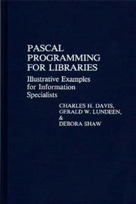 Pascal Programming for Libraries cover image
