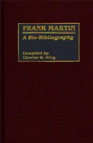 Frank Martin cover image
