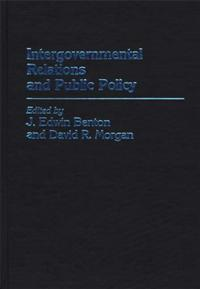 Intergovernmental Relations and Public Policy cover image