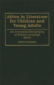 Africa in Literature for Children and Young Adults cover image