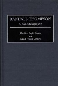 Randall Thompson cover image