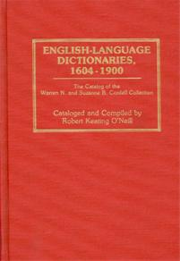 English-Language Dictionaries, 1604-1900 cover image