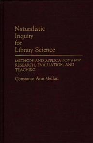 Naturalistic Inquiry for Library Science cover image