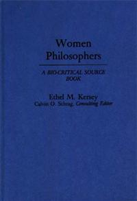 Women Philosophers cover image