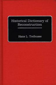 Historical Dictionary of Reconstruction cover image