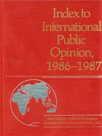 Index to International Public Opinion, 1986-1987 cover image