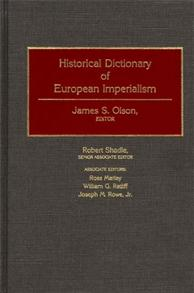 Historical Dictionary of European Imperialism cover image
