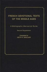 French Devotional Texts of the Middle Ages cover image